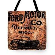 Vintage Ford Motor Company Tote Bag