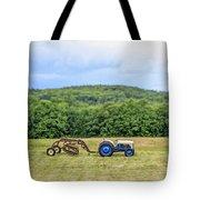 Vintage Ford Tractor Tilt Shift Tote Bag
