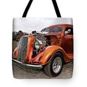Vintage Ford Truck Rod Tote Bag