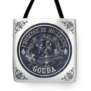 Vintage French Cheese Label 1 Tote Bag
