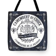 Vintage French Cheese Label 3 Tote Bag