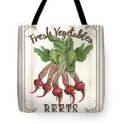 Vintage Fresh Vegetables 1 Tote Bag