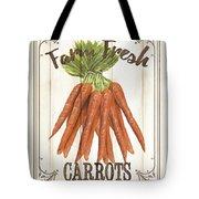 Vintage Fresh Vegetables 3 Tote Bag