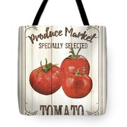 Vintage Fresh Vegetables 4 Tote Bag
