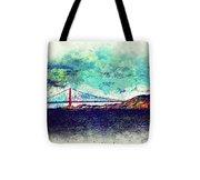 Vintage Golden Gate Tote Bag