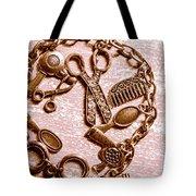 Vintage Hairdressing Charm Tote Bag