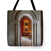 Vintage Hall Tote Bag