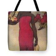 Vintage Hawaiian Woman Tote Bag