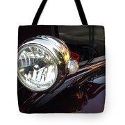 Vintage Headlight Tote Bag