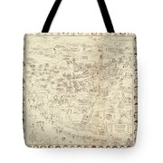 Vintage Hollywood Starland Tote Bag