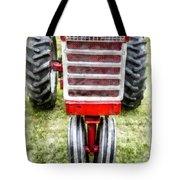 Vintage International Harvester Tractor Tote Bag