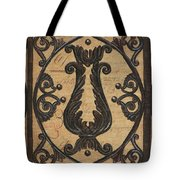 Vintage Iron Scroll Gate 2 Tote Bag by Debbie DeWitt
