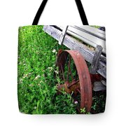 Vintage Irrigation Wagon Tote Bag