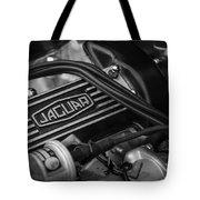 Vintage Jaguar Engine Tote Bag