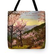 Vintage Japanese Art 14 Tote Bag