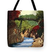 Vintage Japanese Art 18 Tote Bag