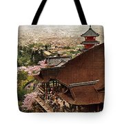 Vintage Japanese Art 19 Tote Bag