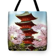 Vintage Japanese Art 21 Tote Bag