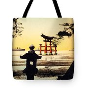 Vintage Japanese Art 23 Tote Bag