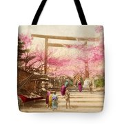 Vintage Japanese Art 25 Tote Bag