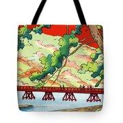 Vintage Japanese Art 6 Tote Bag