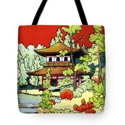 Vintage Japanese Art 7 Tote Bag