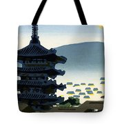 Vintage Japanese Art 9 Tote Bag