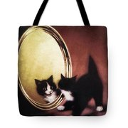 Vintage Kitty Cat Tote Bag