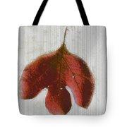 Vintage Leaf Tote Bag