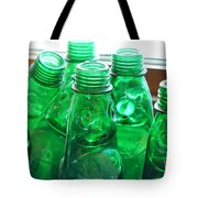 Vintage Lemonade Glass Bottles Tote Bag