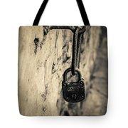 Vintage Lock Tote Bag