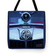 Vintage M G Emblem Tote Bag