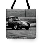 Vintage Mg On Track Tote Bag