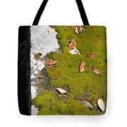 Vintage Moss Tote Bag