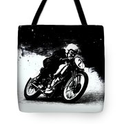 Vintage Motorcycle Racer Tote Bag