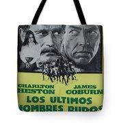 Vintage Movie Poster 6 Tote Bag