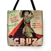Vintage Movie Poster 7 Tote Bag
