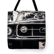 Vintage Mustang Tote Bag