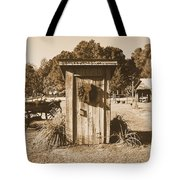 Vintage Outhouse  Tote Bag