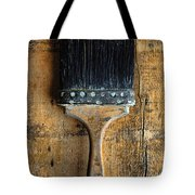Vintage Paint Brush Tote Bag