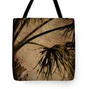 Vintage Palm Tote Bag
