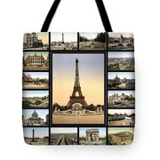 Vintage Paris 1900 Tote Bag by Andrew Fare