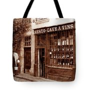 Vintage Paris 3 Tote Bag