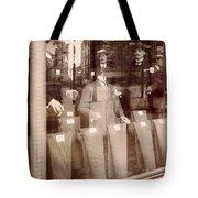 Vintage Paris Men's Fashion Tote Bag