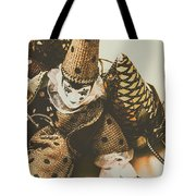 Vintage Party Puppet Tote Bag