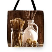 Vintage Pasta  Tote Bag by Amanda Elwell