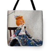 Vintage Peg Doll  Tote Bag