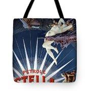 Vintage Petrole Stella Poster Tote Bag