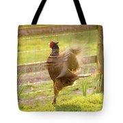 Vintage Pheasant Tote Bag