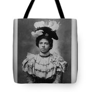 Vintage Photo Of Young Pretty Colored Lady Tote Bag